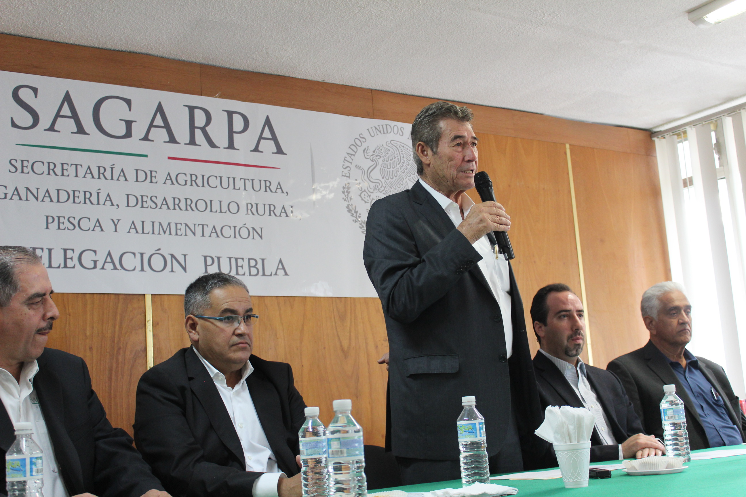 Es Germán Barnard el nuevo delegado de Sagarpa en Puebla