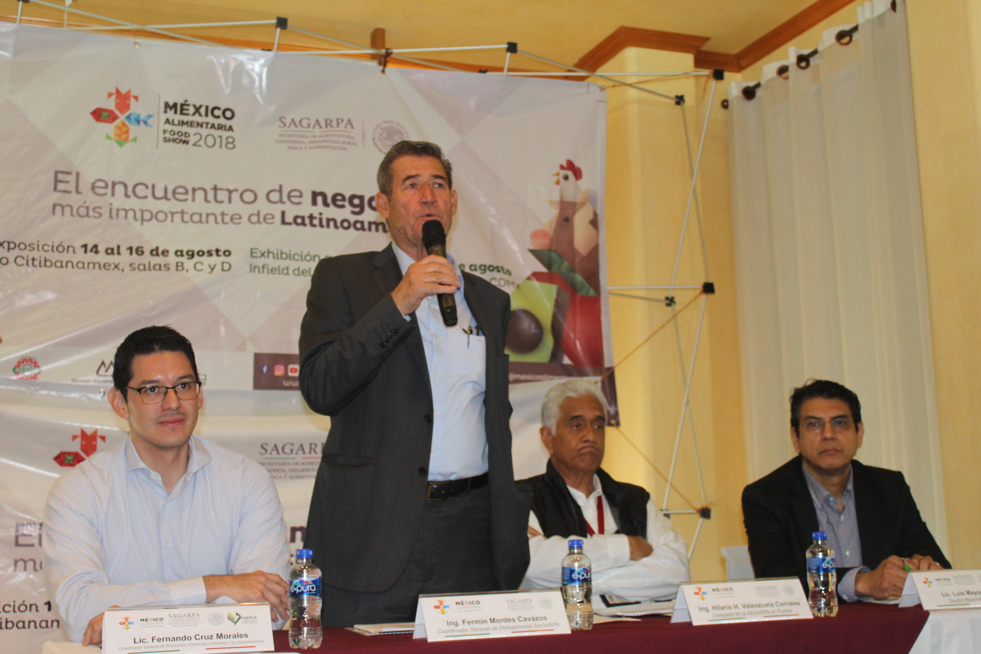 Puebla participará en la México Alimentaria 2018 Food Show