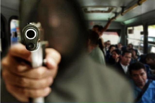 Hombres armados asaltan a un ruta Directos Cholula