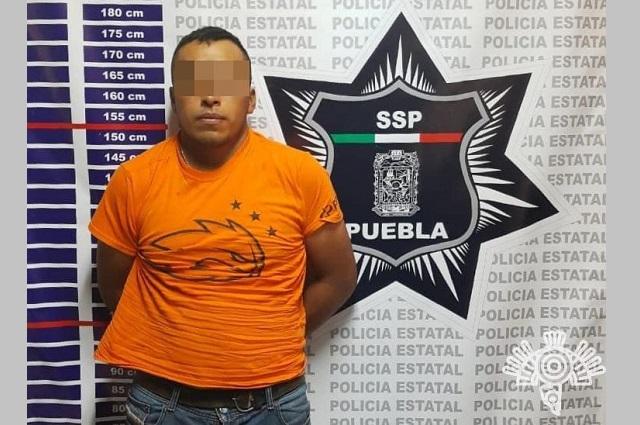 Lo detienen en Chignahuapan con 100 litros de combustible robado