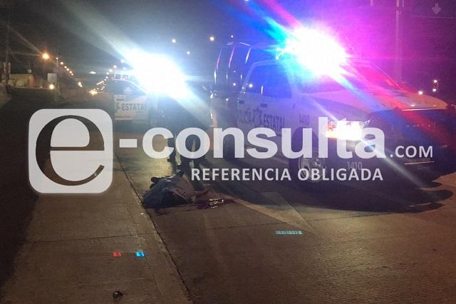 Peatón muere arrollado en Periférico, cerca de Los Héroes
