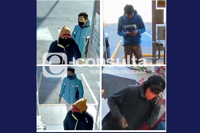 Ladrones asaltan tiendas Oxxo en Puebla y zona conurbada