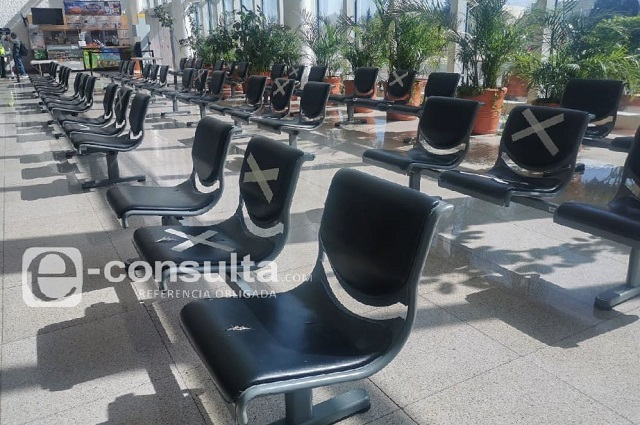 Con sanitización constante reabre el Aeropuerto de Puebla
