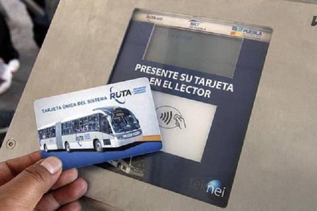 Reanuda cobro la línea 1 de RUTA en Puebla