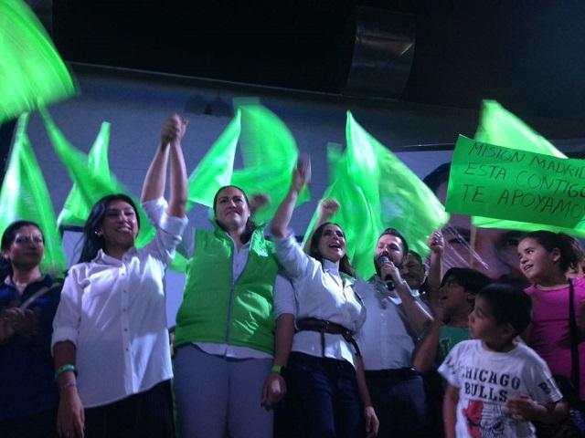 Continúa campaña Fernanda Gutiérrez por diputación federal en distrito 15