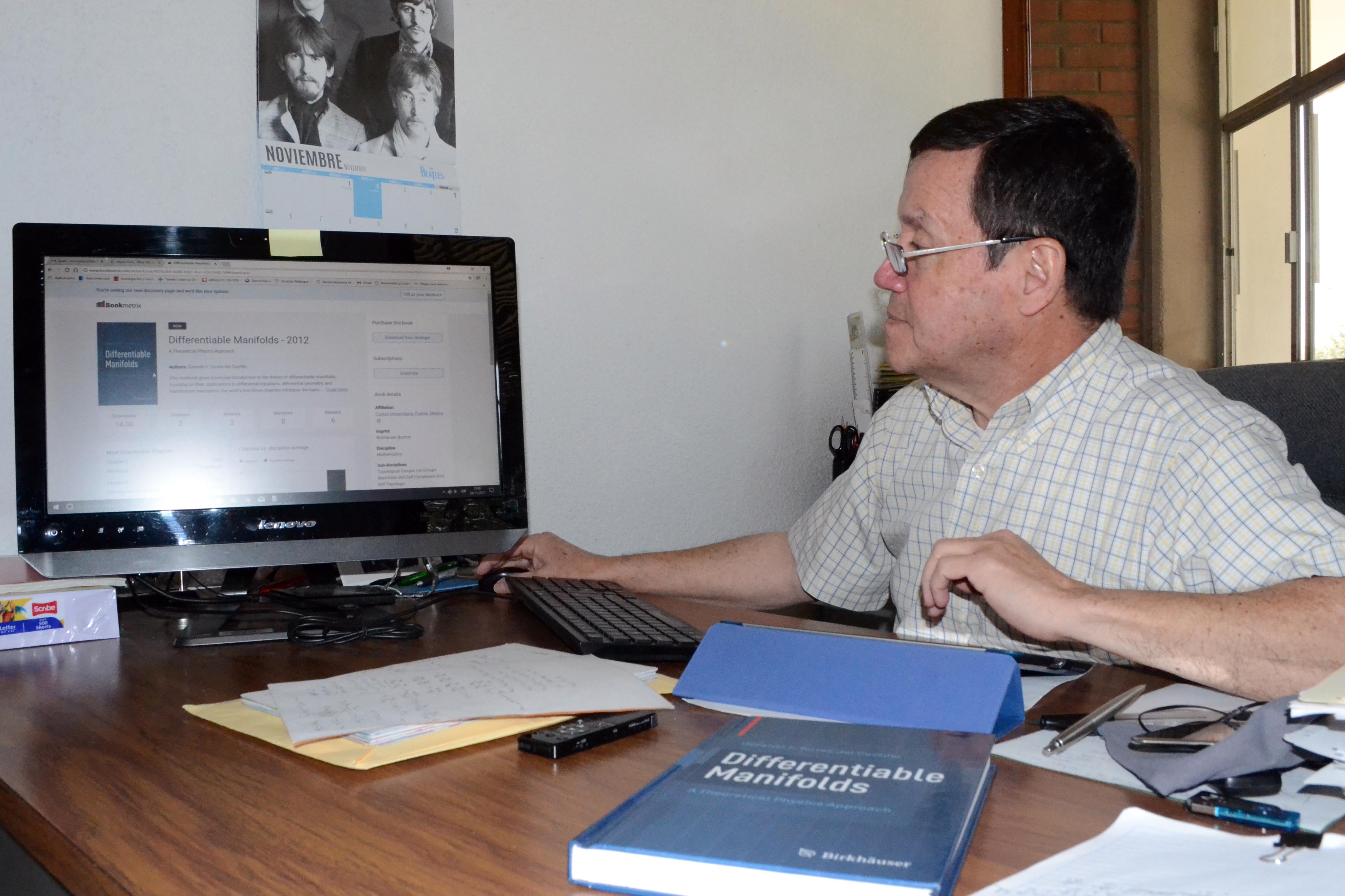 Prestigiosa editorial científica publicará libro de investigador BUAP