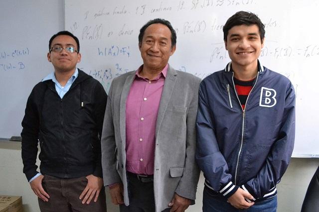 Impulsa BUAP vocación de jóvenes a través de las matemáticas