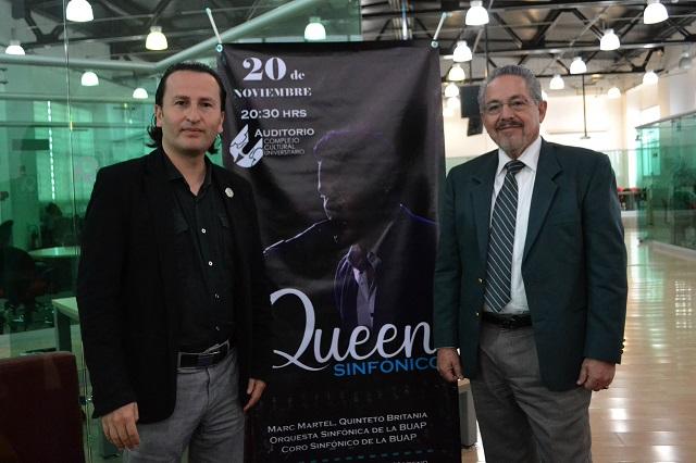 CCU de la BUAP vibrará con las melodías de Queen
