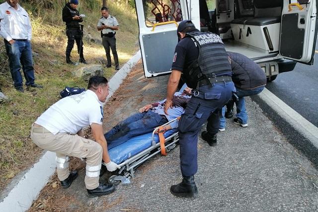 Secuestran a supuesto cura en Tlaxcala y lo balean en Puebla