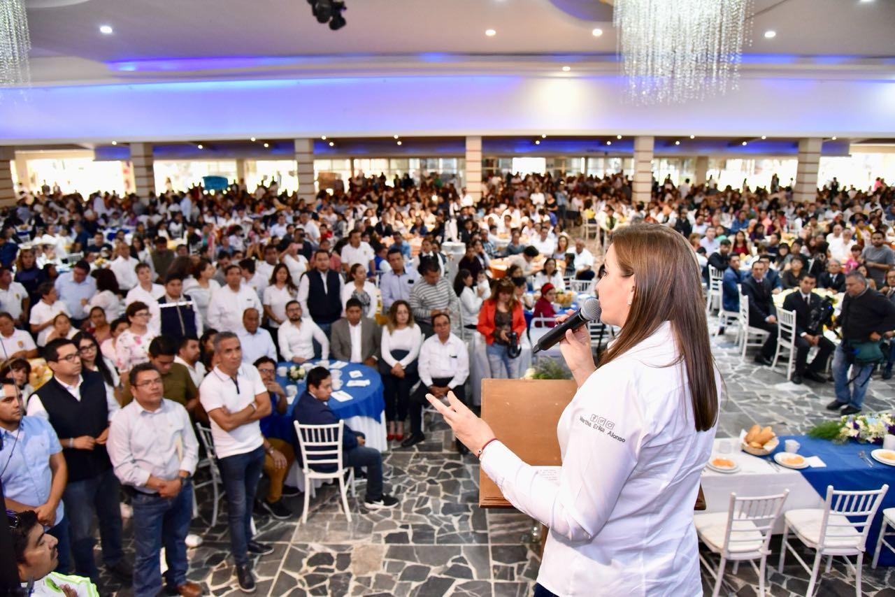 Martha Erika se reúne con sindicatos de Salud y del Issstep