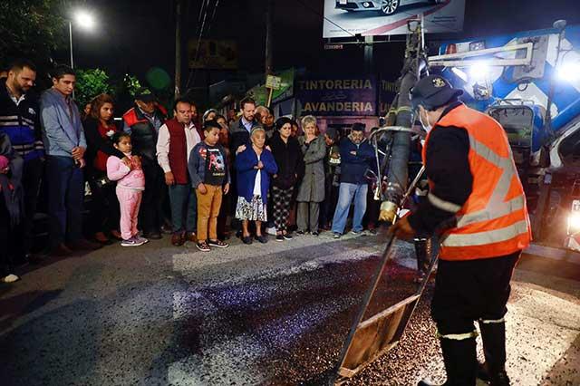 Se han tapado 25 mil 985 baches en 105 colonias y barrios de Puebla