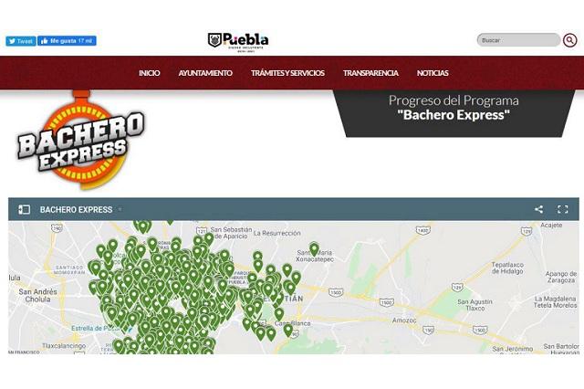 Lanza gobierno de Puebla capital monitor del Bachero Express