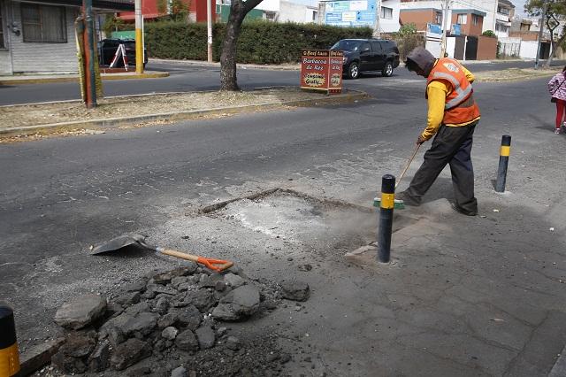Obsoletas, 85% de las calles de la ciudad de Puebla, afirma el COE