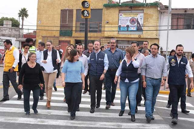 Bachetón 2.0 pretende tapar 50 mil baches en Puebla, en 2 meses