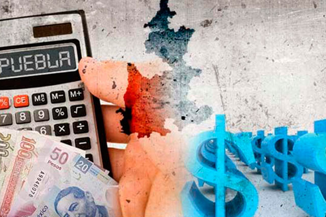 Descalabro presupuestal para Puebla es de 4 mmdp; baja 6%