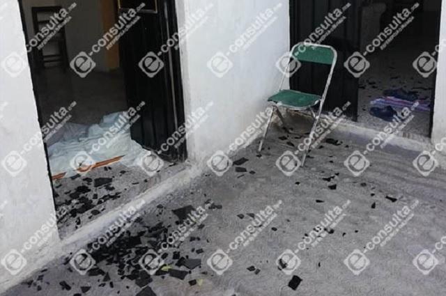 Reportan balacera en barrio de San Miguel en Acatzingo