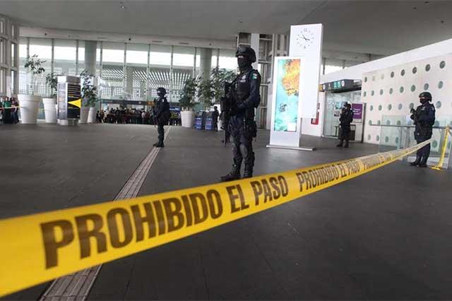 Reportan una balacera en el aeropuerto de la CDMX