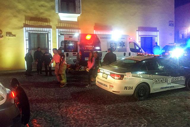 Deja nueve heridos balacera frente a la SGG de Puebla