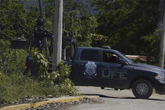 Balacera en La Malquerida de Ixtapa deja un saldo de 4 muertos