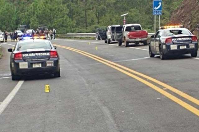 Emboscan a federales y el sado fue de un sicario muerto y un policía herido