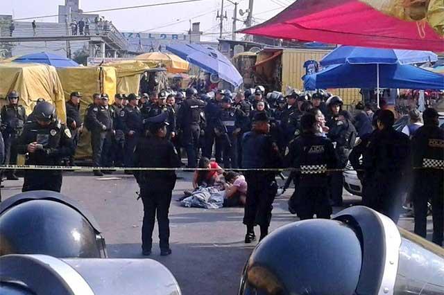 Balacera en el mercado de Sonora deja un saldo de 2 personas muertas
