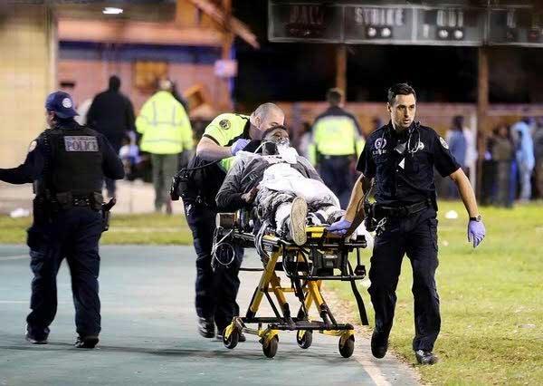 Balacera en fiesta de Nueva Orleans deja un saldo de 16 heridos