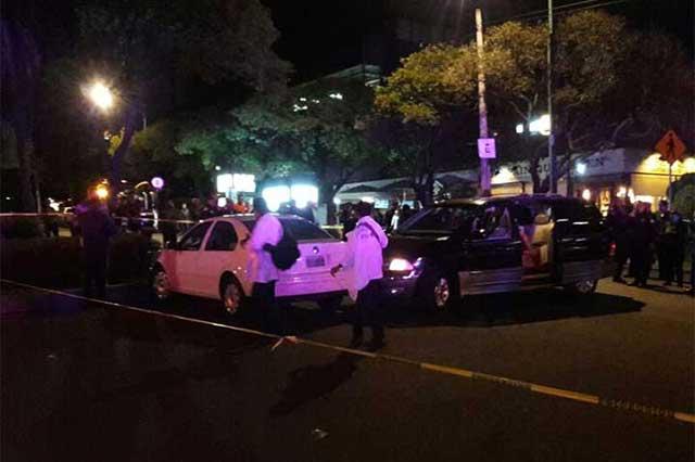 Balacera en Lomas de Chapultepec deja saldo de un ladrón muerto