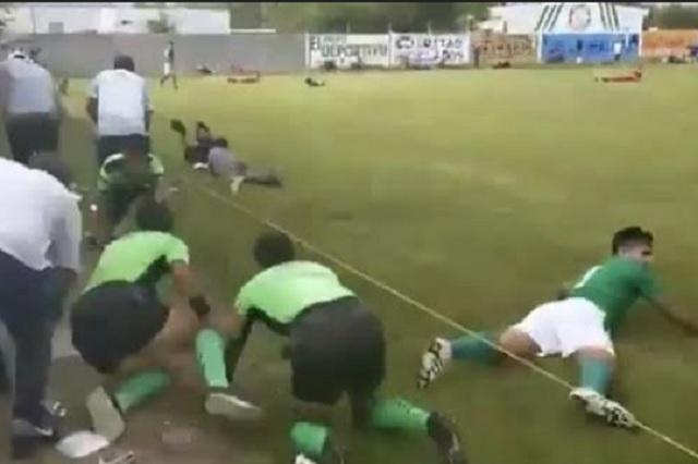 Balacera sorprende a jugadores amateur en Guanajuato