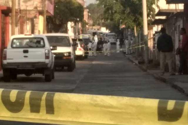 Balacera en Temixco deja un saldo de 6 personas muertas