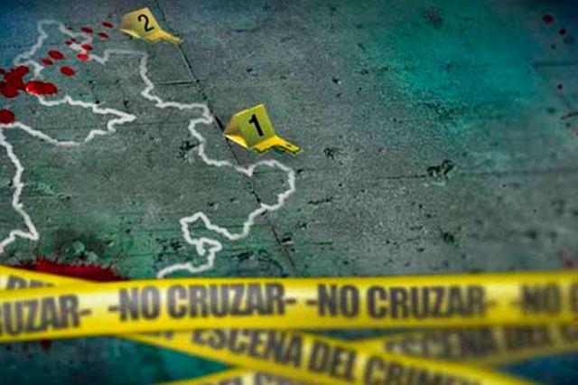 Cinco muertos y dos heridos dejan dos balaceras en Tehuacán
