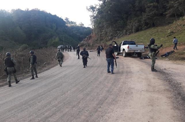 Enfrentamiento armado en Guerrero deja un saldo de 10 muertos