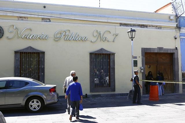 Buscan cobrar deuda y balean al notario número 7 en El Carmen