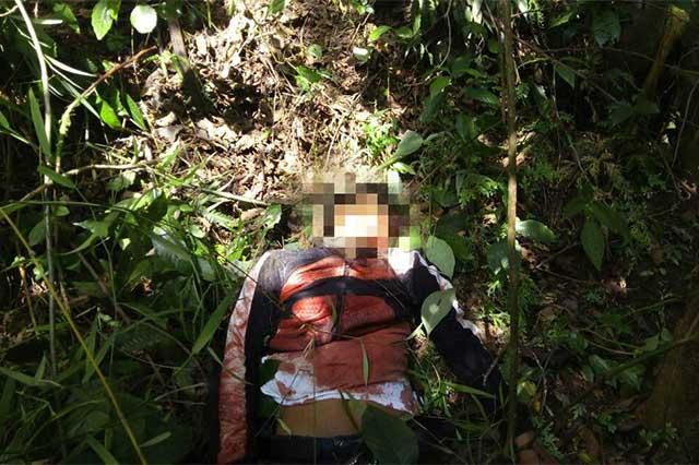 Al delincuente con máscara de payaso lo balearon policías de Tlapacoya