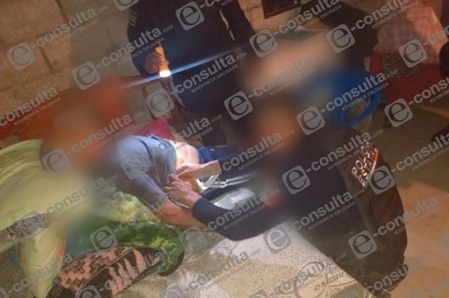 Agreden a tiros a un hombre en su domicilio en Pantepec