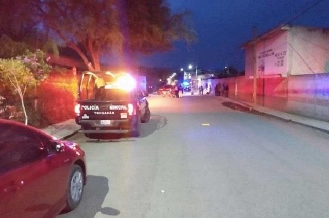 Abandonan a vecino de Xonacatepec, golpeado y baleado