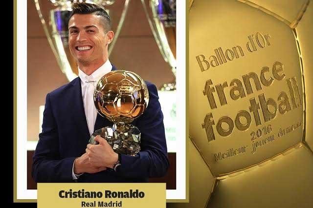 Cristiano Ronaldo vence a Lionel Messi y gana su cuarto Balón de Oro