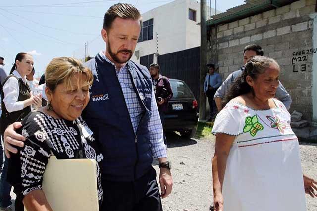 Instala Luis Banck el Comité de Seguridad en Guadalupe Hidalgo