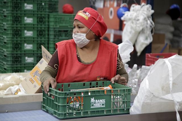 Lanza Banco de Alimentos de Puebla supermercado virtual