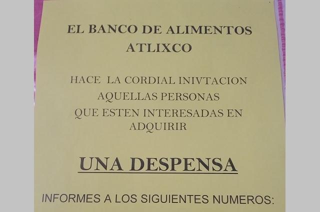 Abren banco de alimentos con fines políticos en Metepec