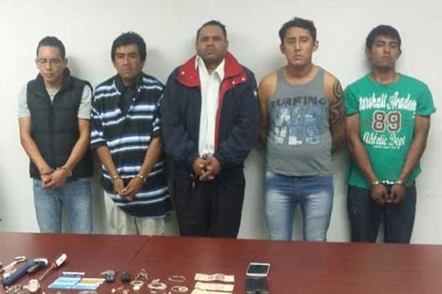 Relacionan a banda detenida con crimen en la colonia San Manuel