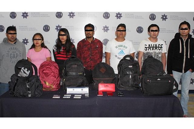 Desarticuló policía a banda dedicada al robo a transporte público