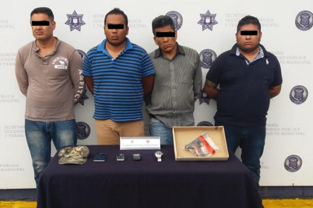 SSPTM Puebla desarticula banda que asaltaba a repartidores de gas