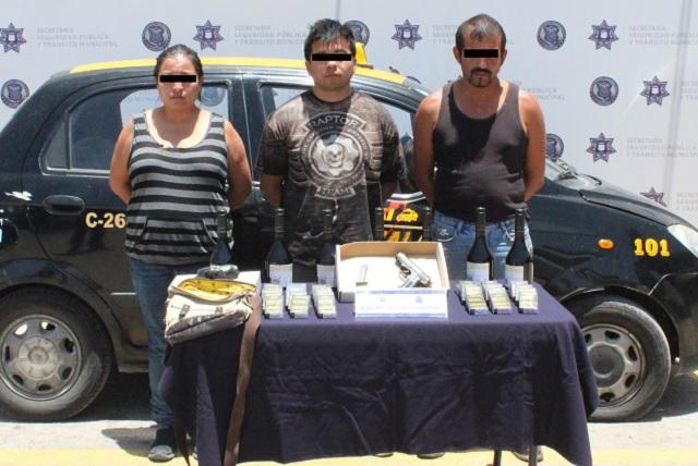 Banda que asaltaba tiendas Oxxo fue desarticulada por policía de Puebla
