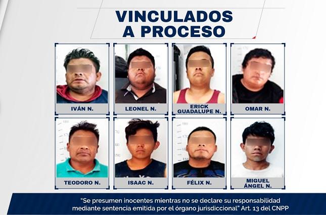 Dan prisión preventiva a banda detenida en Xiutetelco