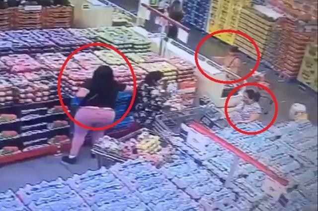 Video: Así opera banda de mujeres que roba carteras