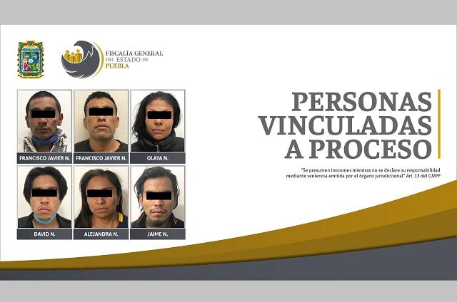 Fiscalía desarticuló banda de secuestradores en Almecatla