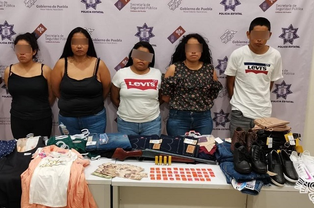 Cae en Tlacotepec de Juárez banda que robaba tiendas