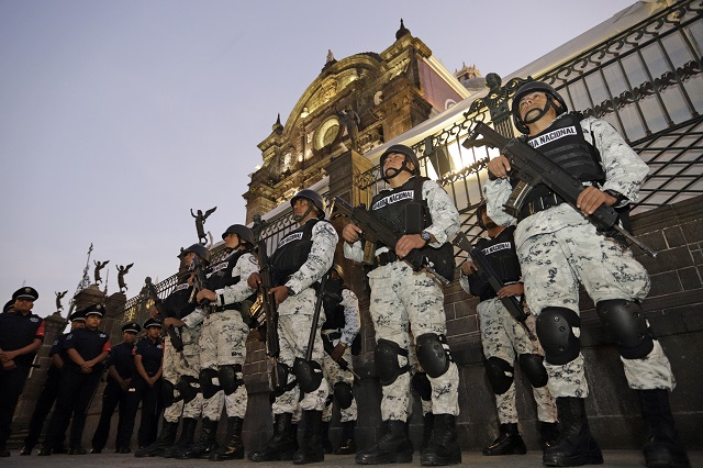 Dice Canaco que blindaje en centro de Puebla llegó tarde