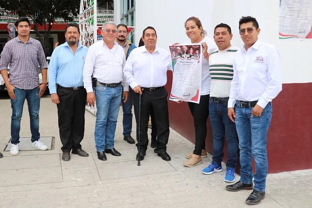 Presentan programa del Bando Patrio en Amozoc
