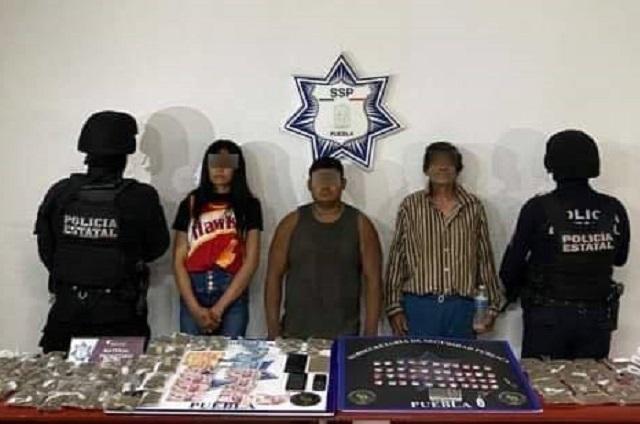Capturan a banda de delincuentes en ejido de Atlixco